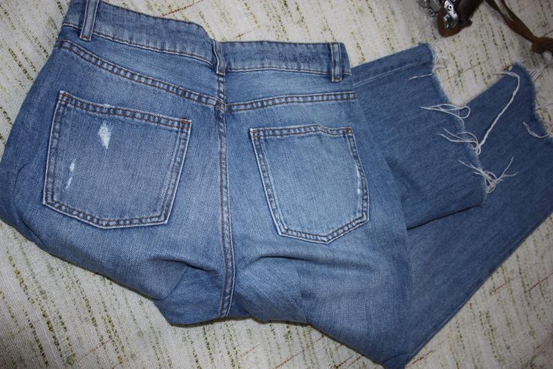 Стильные кюлоты . джинсы укороченные - Фото 4