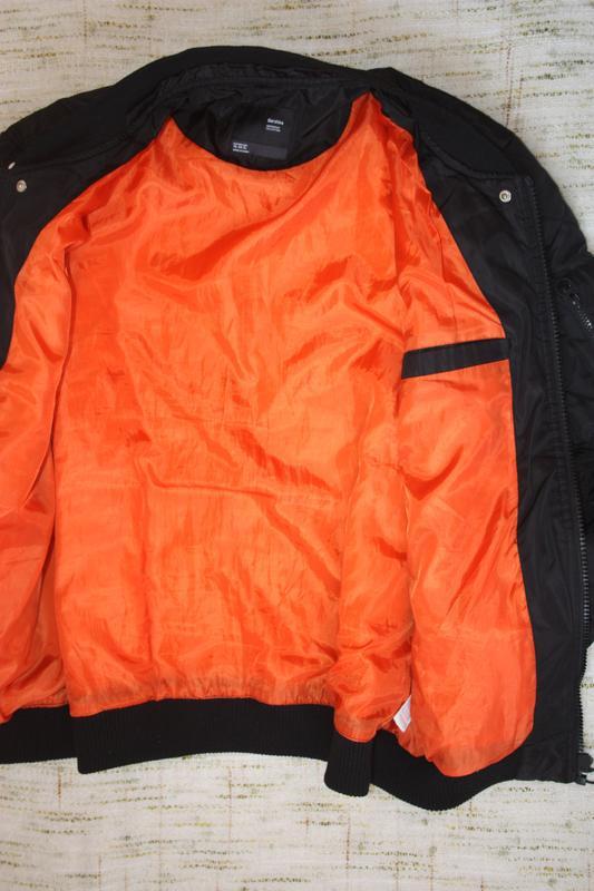 Бомбер на осень.  деми куртка - Фото 3