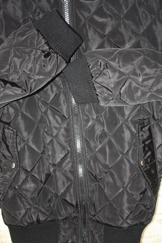 Бомбер на осень.  деми куртка - Фото 4