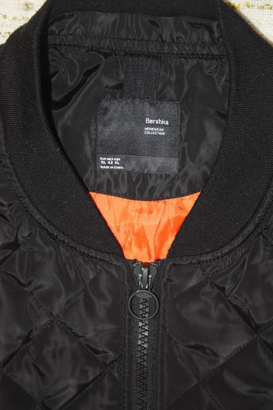 Бомбер на осень.  деми куртка - Фото 5