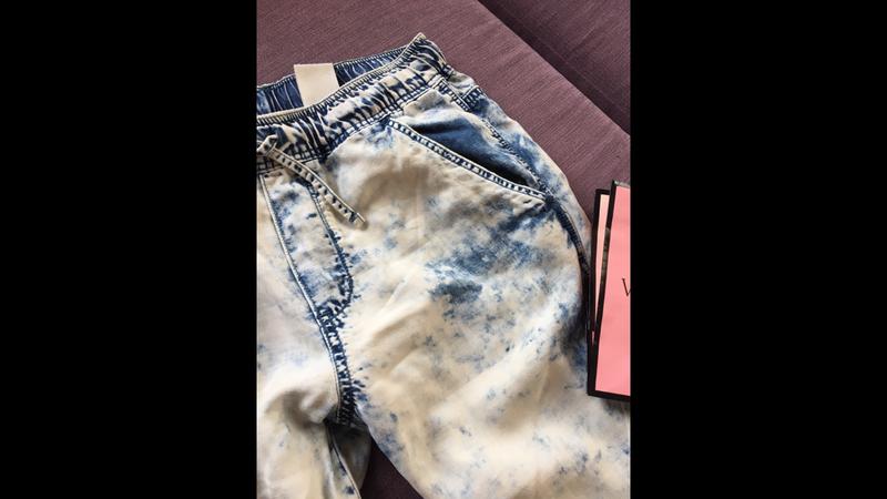 Клевые джинсы варенки  denim&co с резинками снизу - Фото 2