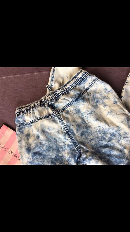 Клевые джинсы варенки  denim&co с резинками снизу - Фото 3