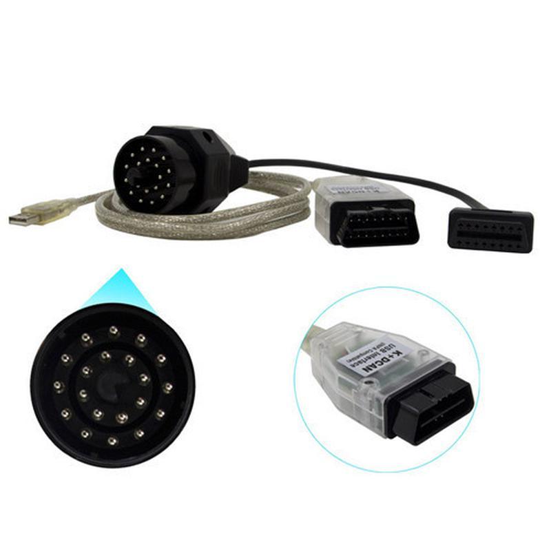 Автомобильный сканер K+DCAN INPA USB диагностики авто для BMW