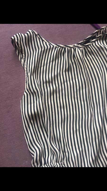 Красивая блузочка h&m  в полоску - Фото 3