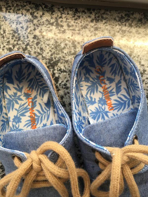 Клевые джинсовые туфли , мокасины lcwaikiki 30 размер новые - Фото 4