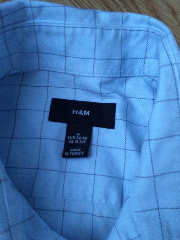 Рубашка h&m - Фото 2