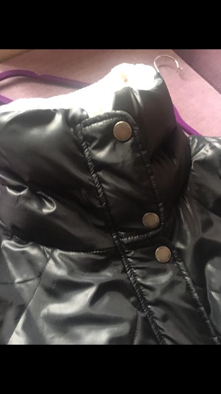 Теплая , клевая курточка only на меховушку - Фото 2