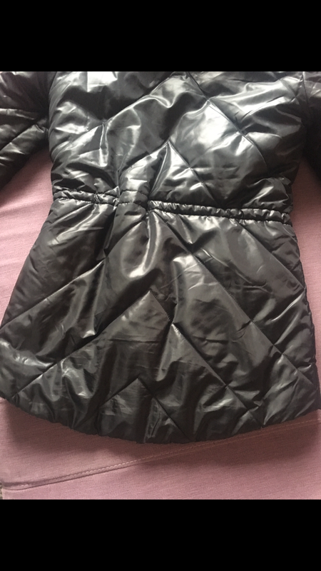 Теплая , клевая курточка only на меховушку - Фото 4