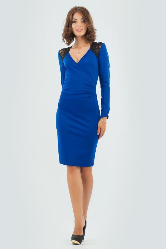 Нарядное классическое платье. бренд v&v - Фото 2