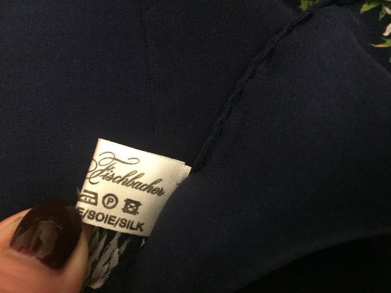 Christian fischbaher платок ромашки 100% шёлк - Фото 4