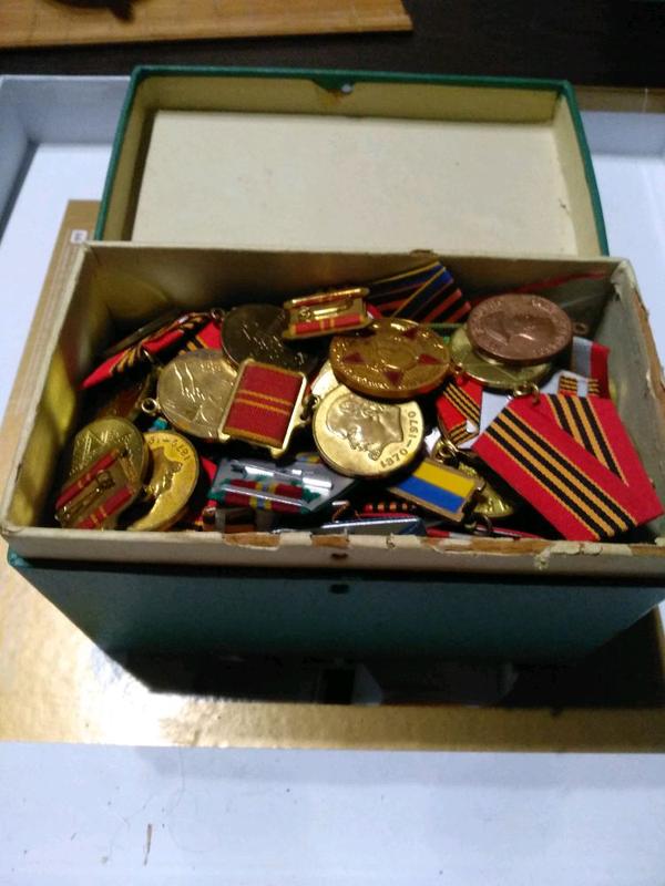 Медали. Ордена. Награды. СССР. Антиквариат. Коллекция ФЭД-2