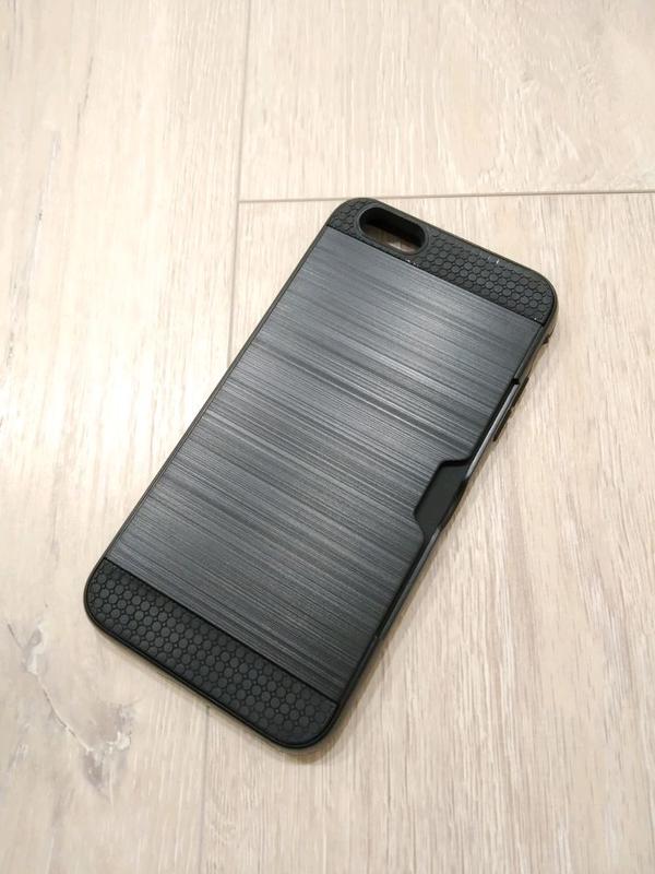 IPhone 6 Plus / 6s Plus чехол противоударный с отделом для карт
