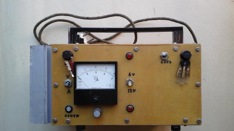 Зарядное устройство для авто/мото аккумуляторов. - Фото 3