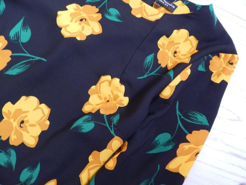 🌿эксклюзивное, невероятное женское нарядное платье в цветочный... - Фото 7