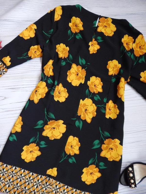 🌿эксклюзивное, невероятное женское нарядное платье в цветочный... - Фото 8