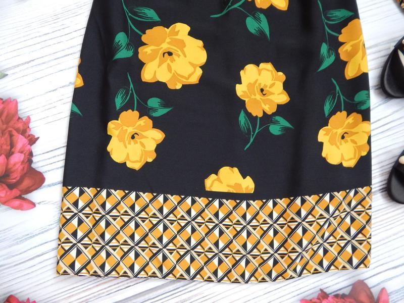 🌿эксклюзивное, невероятное женское нарядное платье в цветочный... - Фото 9