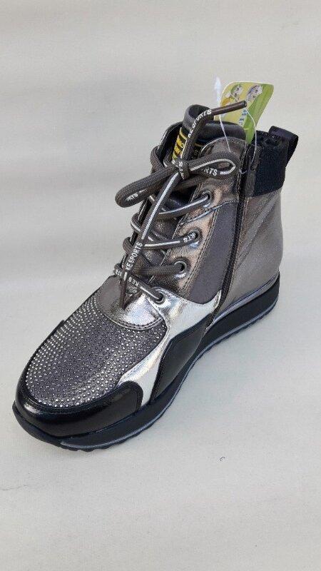 Модные качественные демисезонные ботинки новинка - Фото 2