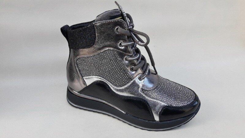 Модные качественные демисезонные ботинки новинка - Фото 3