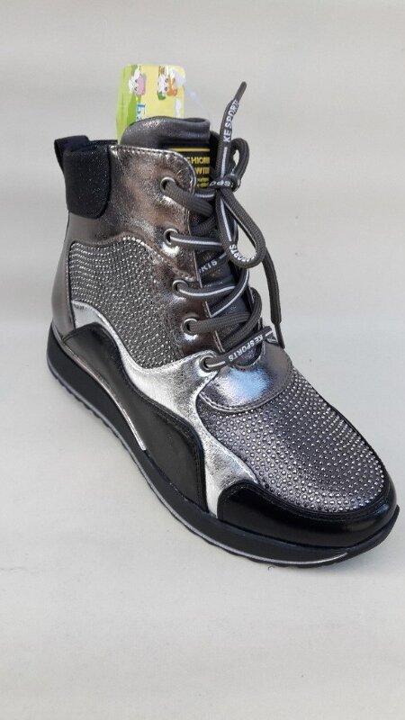 Модные качественные демисезонные ботинки новинка - Фото 5