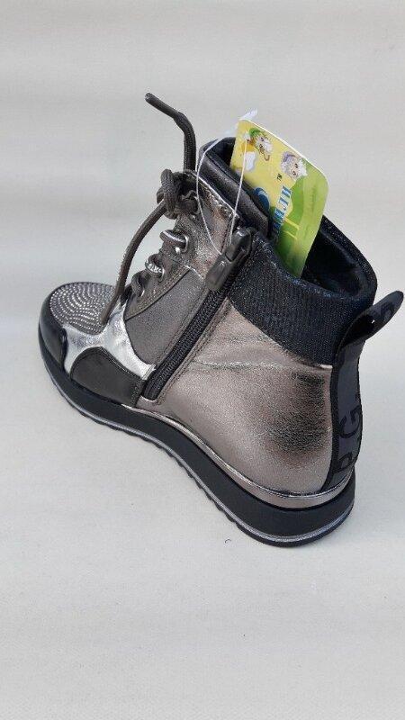 Модные качественные демисезонные ботинки новинка - Фото 6