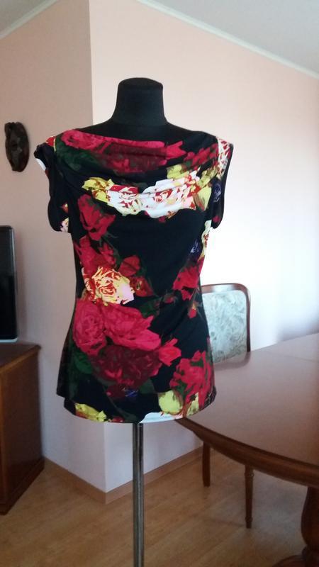 Яркая стильная блуза grace elements(сша),размер м