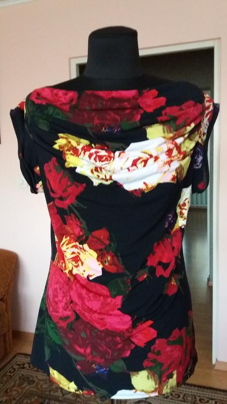 Яркая стильная блуза grace elements(сша),размер м - Фото 2
