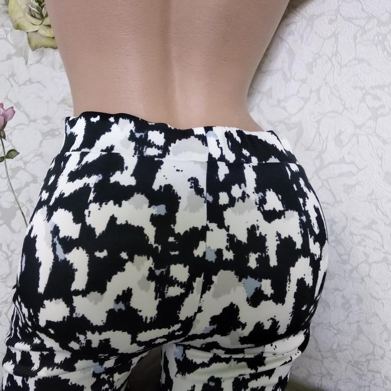 Крутые штанишки ,плотный трикотаж р.10 - Фото 6