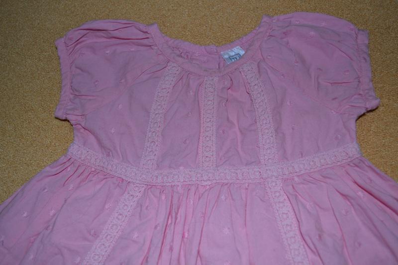Платье tu хлопок 6-12 мес р.74 - Фото 2