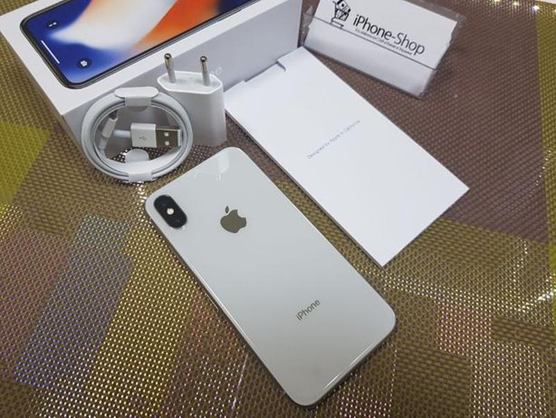 Apple iPhone Х 256Gb Silver, NeverLock. Идеал ! Гарантия ! Рас... - Фото 3