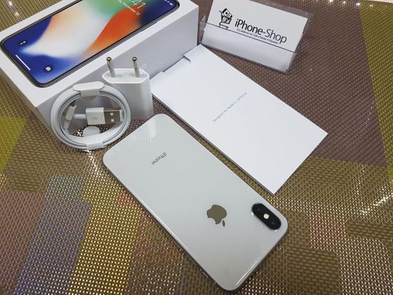 Apple iPhone Х 256Gb Silver, NeverLock. Идеал ! Гарантия ! Рас... - Фото 4