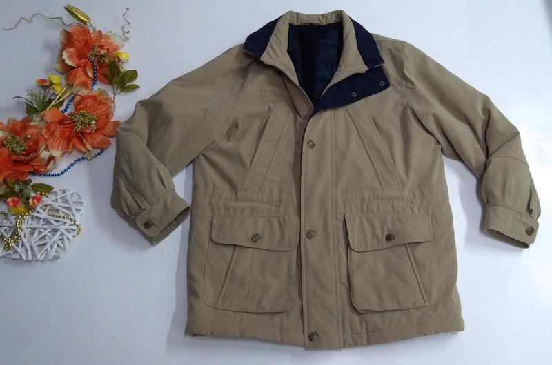 Утепленная мужская куртка осень - зима размер 50 - Фото 2