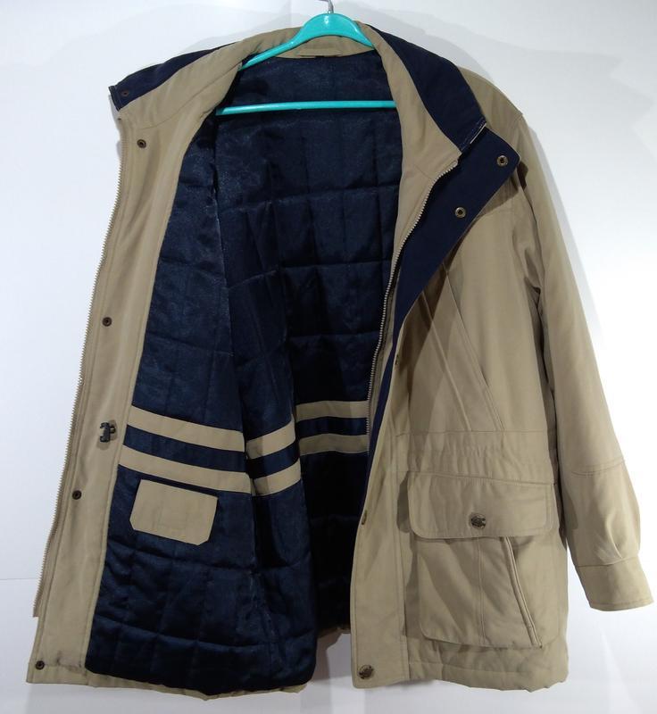 Утепленная мужская куртка осень - зима размер 50 - Фото 4