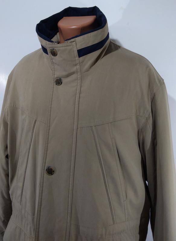 Утепленная мужская куртка осень - зима размер 50 - Фото 5