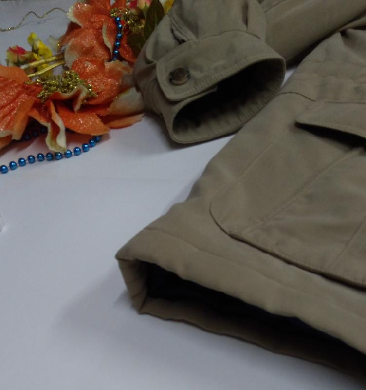 Утепленная мужская куртка осень - зима размер 50 - Фото 6
