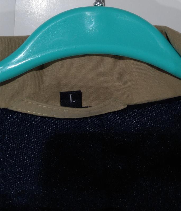 Утепленная мужская куртка осень - зима размер 50 - Фото 8