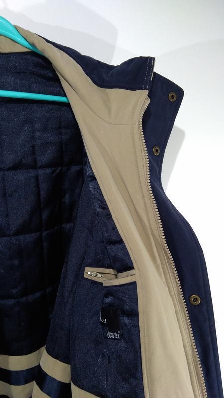 Утепленная мужская куртка осень - зима размер 50 - Фото 9