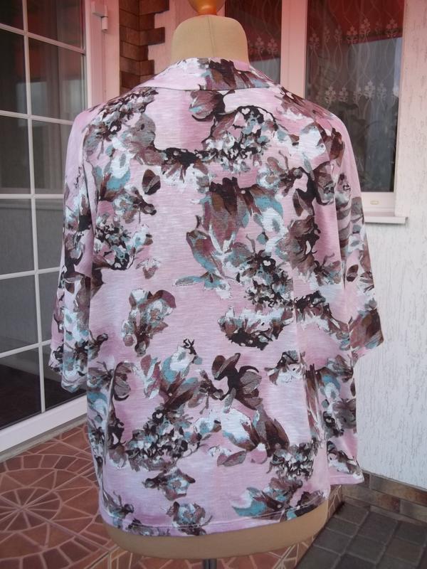 ( 50 / 52 р) dorothy perkins пиджак жакет накидка кардиган - Фото 7