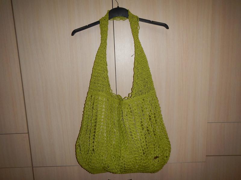 Пляжная сумка из соломки cappelli - Фото 2