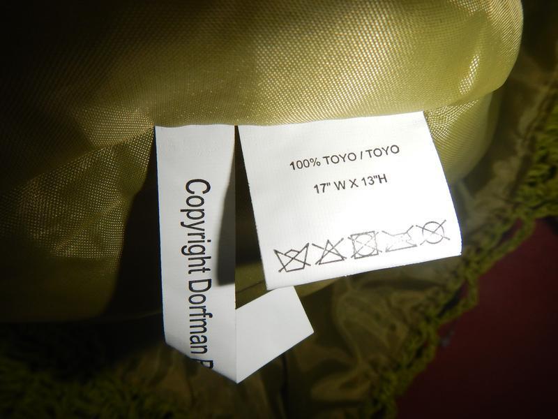 Пляжная сумка из соломки cappelli - Фото 4