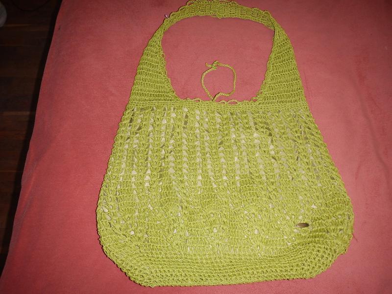 Пляжная сумка из соломки cappelli - Фото 5