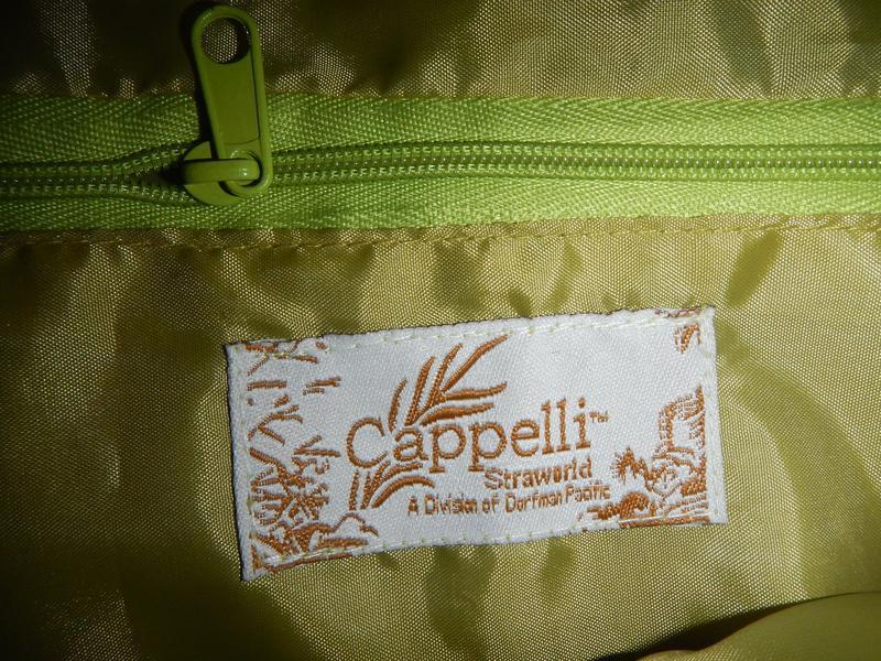 Пляжная сумка из соломки cappelli - Фото 6