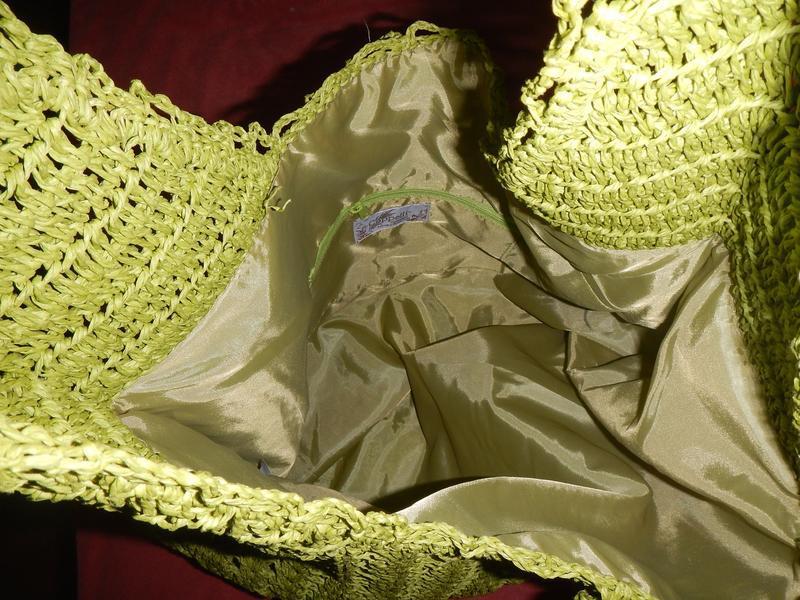 Пляжная сумка из соломки cappelli - Фото 7