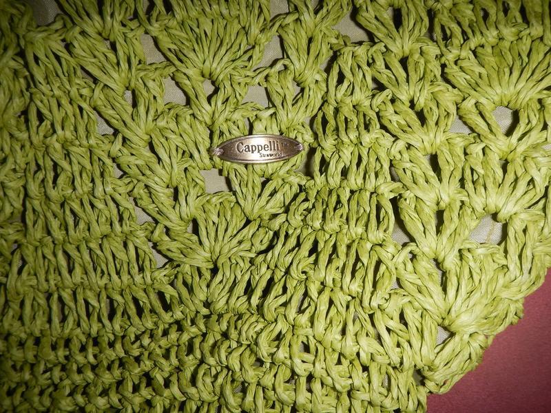 Пляжная сумка из соломки cappelli - Фото 8