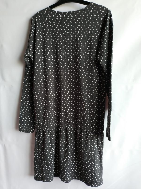 Стильное подростковое платье свободного кроя французского брен... - Фото 2