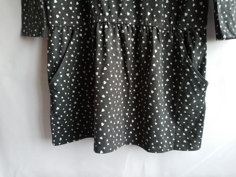 Стильное подростковое платье свободного кроя французского брен... - Фото 3