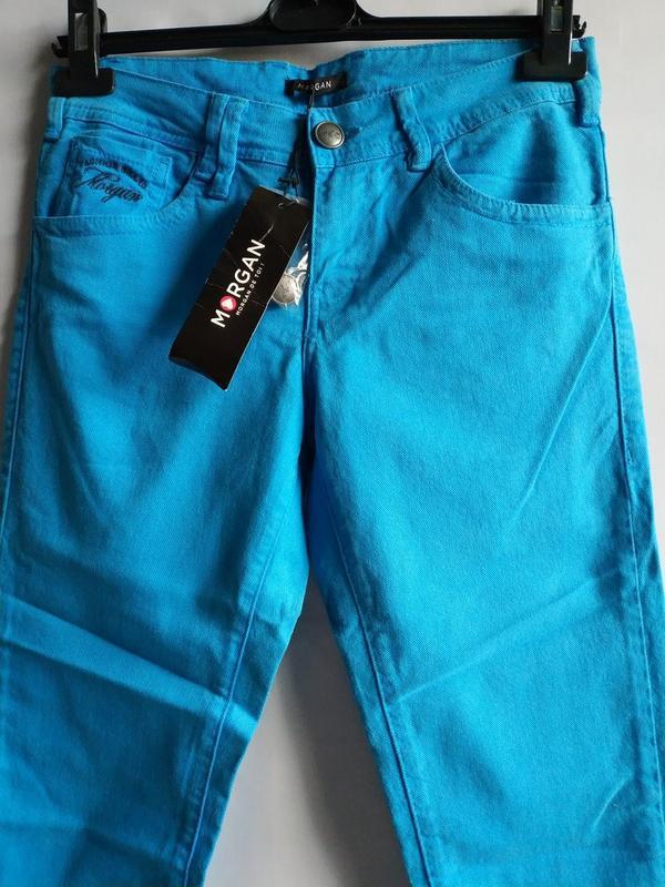 Женские  плотные  джинсы  французского бренда morgan  сток из ... - Фото 3