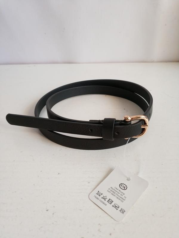Женский узкий  ремень от accessoires c&a   сток из европы