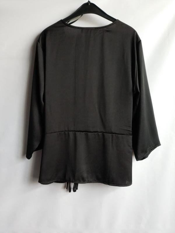 Женская блуза на запах датского бренда sisters point, xl - Фото 4