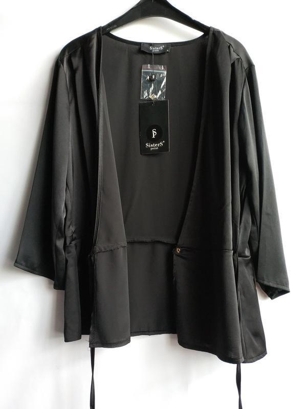 Женская блуза на запах датского бренда sisters point, xl - Фото 6