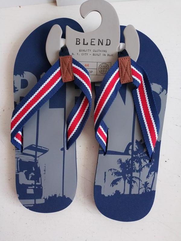Мужские вьетнамки датского бренда blend, 44